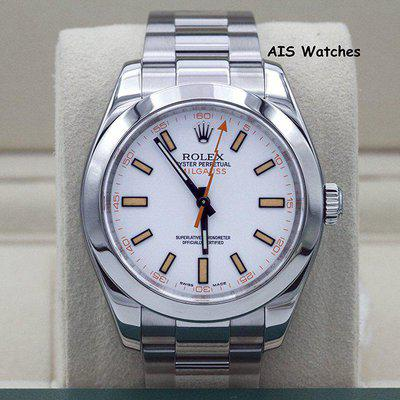 FSOT - Rolex Milgauss 116400 White Dial M Serial Box & Papers