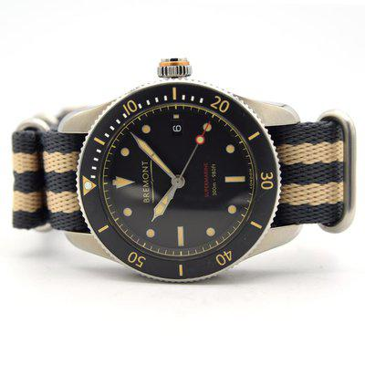 FS [UK] | Bremont Supermarine S301 Automatic | S301/BK | July 2017 Box & Papers