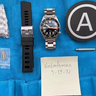 FS: Armida A1 38mm Watch With Sapphire Bezel And Date Complication