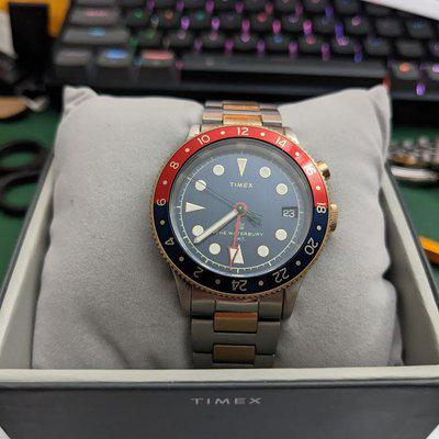 [WTS] Timex Waterbury Traditional GMT on Bracelet (Repost)