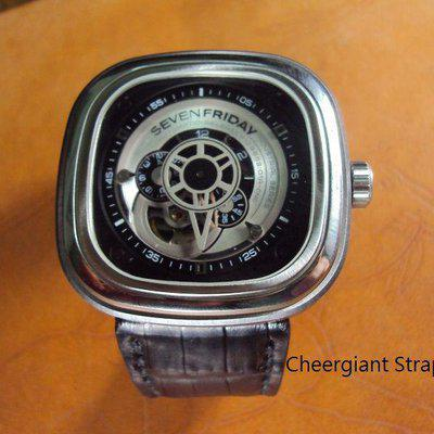 FS:Some SEVENFRIDAY & Corum croco strap & Tissot T-Race Touch AnaDigi leather strap.Cheergiant straps