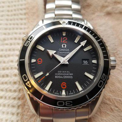Omega Planet Ocean 2500D with adjustable clasp
