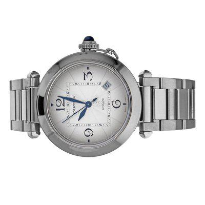 Cartier WSPA0009 Pasha 4266 Silver Dial Box Papers