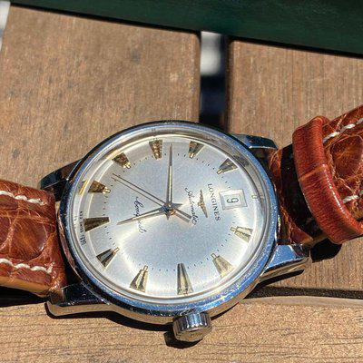 [WTS]Vintage Longines Conquest Heritage with patina with Box and paper from 1994