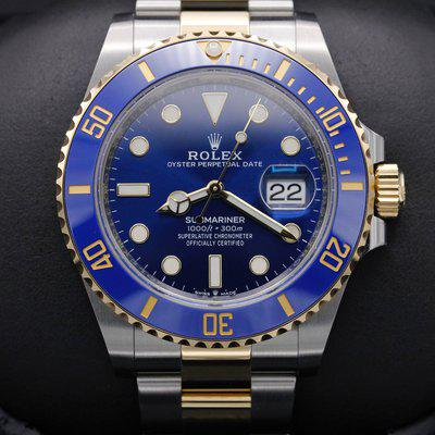 FSOT: Rolex Submariner 41 - 126613 - Two Tone - Blue Dial - 41mm - New 2021