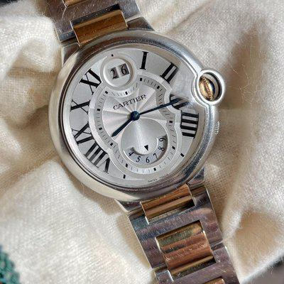 FS: Cartier Ballon Bleu Dual Time Zone and Big Date 18k and Steel