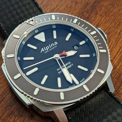 FT: Alpina Seastrong 300 Automatic