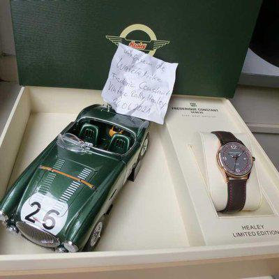 Frederique Constant Vintage Rally Healey Automatic Limited Edition vergoldet