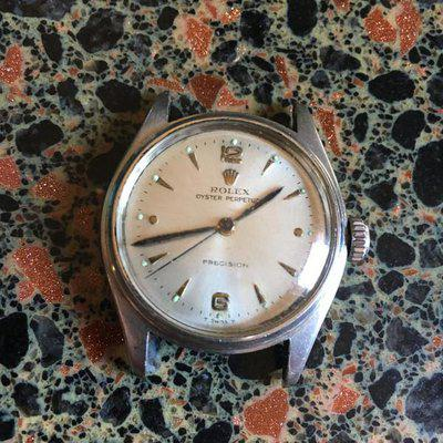 1951 Rolex Reference 6044, Manual Wind.