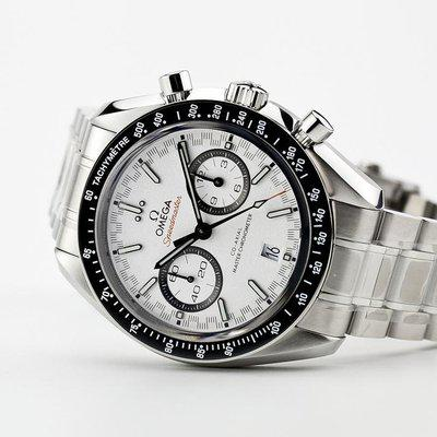 fsot - Omega Speedmaster - Racing Master Co-Axial 44.25mm - White Dial ( new / 2020 )
