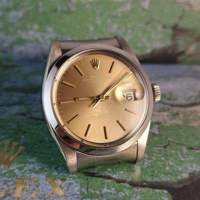 Rolex Date Vintage ref 1500 Rare Ghost Dial
