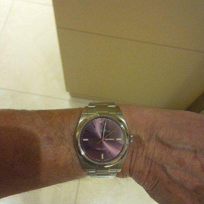 FS: ROLEX Oyster Perpetual 39mm Grape Dial