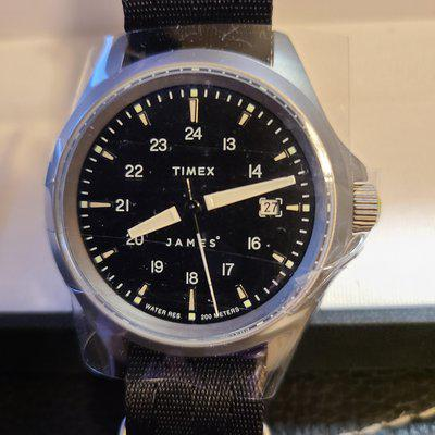 SOLD: Timex The James Brand x Expedition North Titanium Limited Edition, BNIB