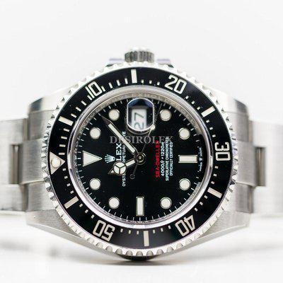 FSOT: Rolex Seadweller SD43 126600 Red Dial Stainless Steel FULL SET 2019