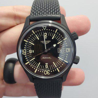 [WTS] Longines Legend Diver Auto in Black PVD 42mm great condition! Ref# L3.774.2.50.9