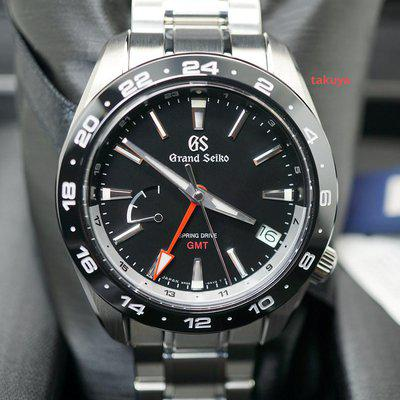 FSOT:BNIB Grand Seiko SPORT COLLECTION SPRING DRIVE GMT SBGE253 BLACK DIAL 2021