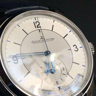 JLC Master Geographic SECTOR dial Jaeger Lecoultre Feb 2028.