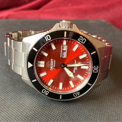 FS: Orient Kanno red dial= $150