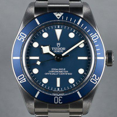 FS: 2021 Tudor Black Bay Fifty-Eight Ref: 79030B Blue with Box and Papers