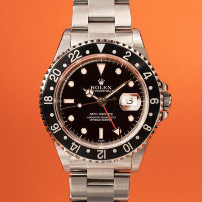 FS: 1999 Rolex GMT-Master 16700 with Papers