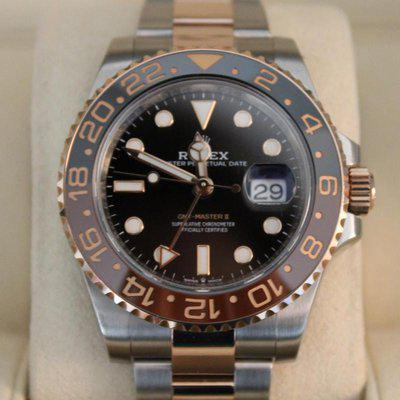 FS: 2019 Rolex GMT-Master II RootBeer Root Beer Rose 18k 126711CHNR BOXES / PAPERS!!