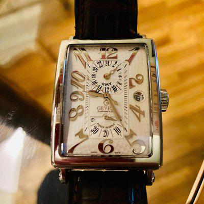 Gevril Avenue of Americas GMT Automatic