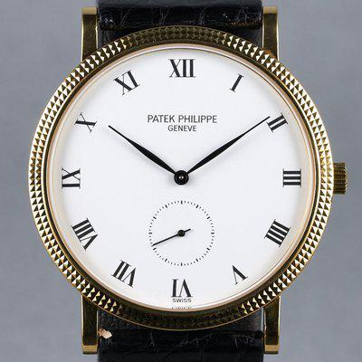 FS: 1988 Patek Philippe YG Calatrava Ref: 3919 with Box and Papers