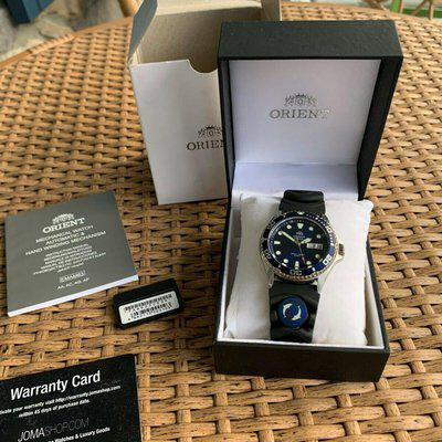 Orient Ray II Blue Divers FAA02008D9 New in box $160