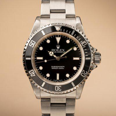 FS: 1999 Rolex Submariner 14060 with Papers