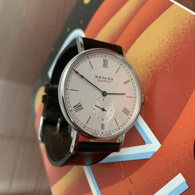 [WTS] Nomos Ludwig 38mm - Exhibition Case Back - Full Set - $1350 Shipped & Insured OBO