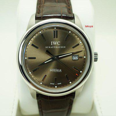 FSOT:IWC Ingenieur AUTOMATIC IW323311 LIMITED EDITION CHOCOLATE DIAL STEEL FULL SET