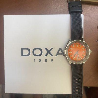 [WTS] Doxa Sub 200 - Full kit with Extra Straps - Barely worn! $825