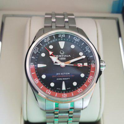 FS: Certina DS Action GMT with Jump Hour hand- REDUCED