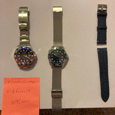 [WTS] Parnis and Bliger watches