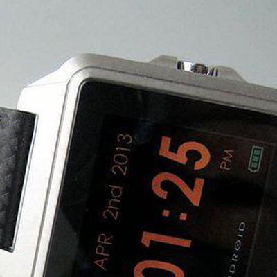 FS: LNIB ANDROID Galactopus Digital Touch Screen in Steel on Strap