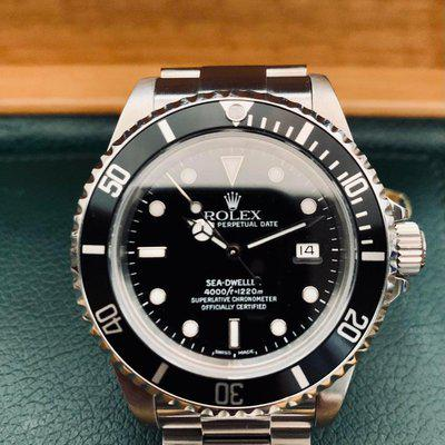 [WTS] 2000 Rolex Sea-Dweller 16600 serviced with Glidelock bracelet and other extras