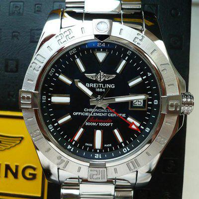 FS: Breitling Avenger II GMT A32390, 43mm, Boxes/Papers, Near-Mint - $2,750