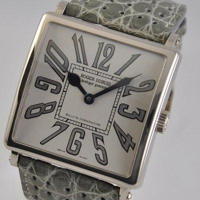 FS: Roger Dubuis Golden Square 18k White Gold 43mm x 43mm LIMITED G43.57.0 Automatic