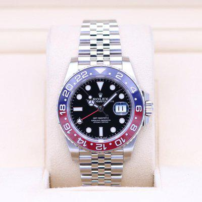FSOT: Rolex GMT Master II Pepsi 126710BLRO Stainless – 2021 Box & Papers