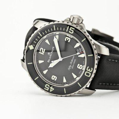 fsot - Blancpain Fifty Fathoms - Black Titanium - 45mm 5015-12B30-B52 ( new / 2021 )