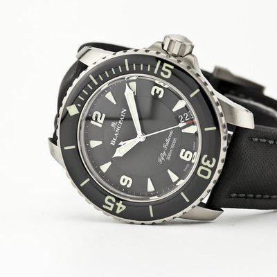 fsot - Blancpain Fifty Fathoms - Black Titanium - 45mm 5015-12B30-B52 ( new / 2020 )
