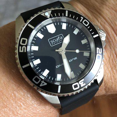 Scurfa Diver One D1-500 ND713 Black *Sold*