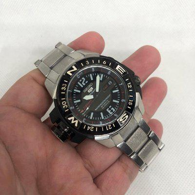 F.S. Seiko 5 Sports Map Meter SKZ229J 200M Automatic MADE IN JAPAN $230