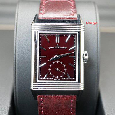 FSOT:Jaeger-LeCoultre REVERSO TRIBUTE SMALL SECONDS DEEP RED DIAL Q397846J 2021
