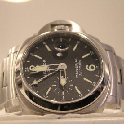 FS:Panerai Luminor Marina PAM 297 GMT 44mm With BOXES + PAPERS! BRACELET! WOW! RARE