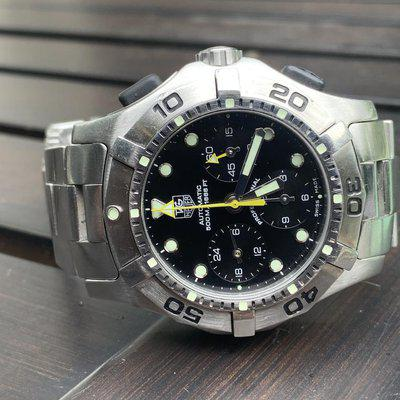 FSOT Tag Heuer Aquagraph $975 Paypal and Others accepted