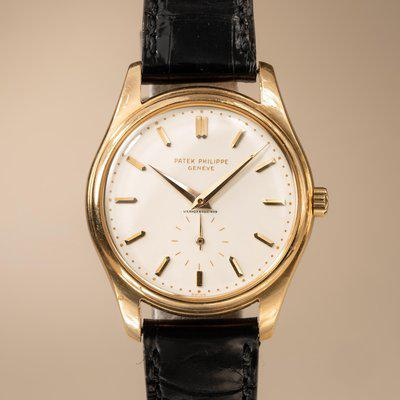 FS: 1956 Patek Philippe Calatrava 2526 Cuervo y Sobrinos with Archive Papers