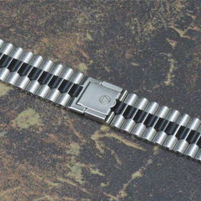 NSA band with black centers to Heuer Jarama or Memovox