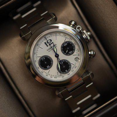 FS: Cartier Pasha 2412 Chronograph