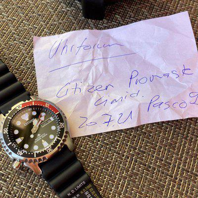 Citizen Promaster Marine Diver Automatic / Limited Edition - 50-Years-Europe
